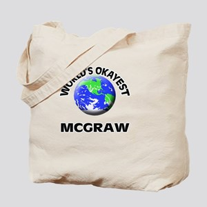 World's Okayest Mcgraw Tote Bag