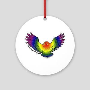 On the Wings of Pride Keepsake (Round)