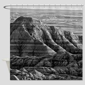Badlands National Park Shower Curtain
