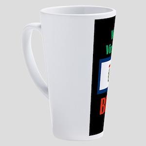 Blair West Virginia 17 oz Latte Mug