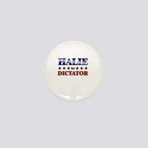 HALIE for dictator Mini Button