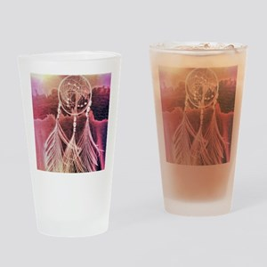 Psychedelic Dreams Drinking Glass