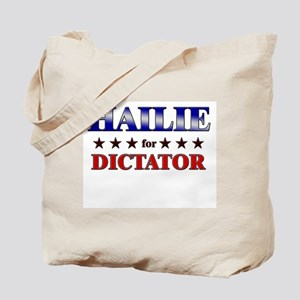HAILIE for dictator Tote Bag