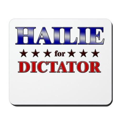 HAILIE for dictator Mousepad