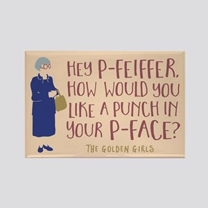 Golden Girls Pfeiffer Magnets