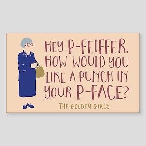 Golden Girls Pfeiffer Sticker