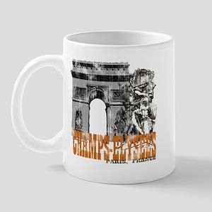 Champ Elysees Distressed Mug