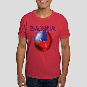 Samoa Football Dark T-Shirt