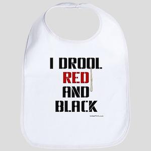 RED AND BLACK (Atl) Bib