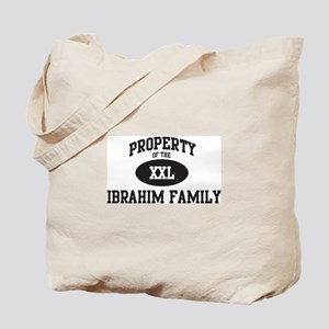 Property of Ibrahim Family Tote Bag