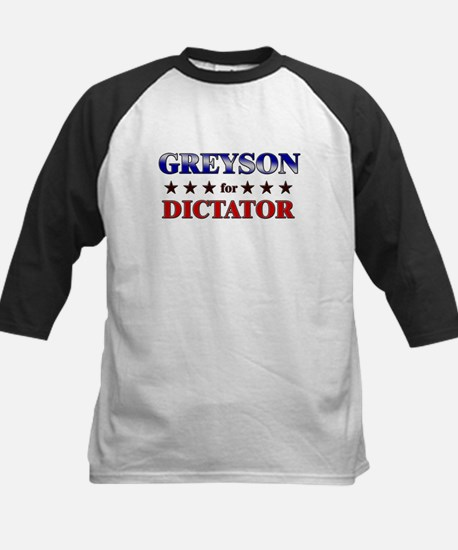 GREYSON for dictator Kids Baseball Jersey