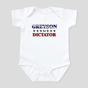 GREYSON for dictator Infant Bodysuit