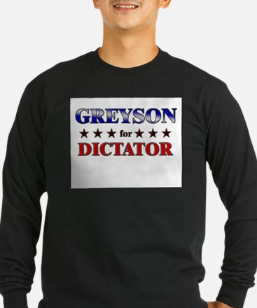 GREYSON for dictator T