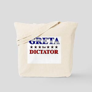 GRETA for dictator Tote Bag