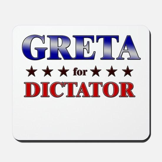 GRETA for dictator Mousepad