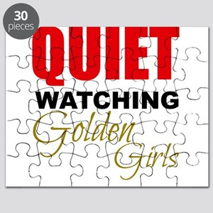 Quiet Watching Golden Girls Puzzle