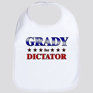 GRADY for dictator Bib