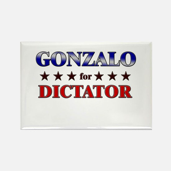 GONZALO for dictator Rectangle Magnet