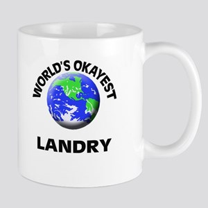 World's Okayest Landry Mugs