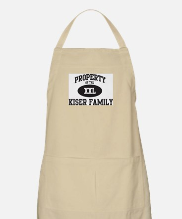 Property of Kiser Family BBQ Apron