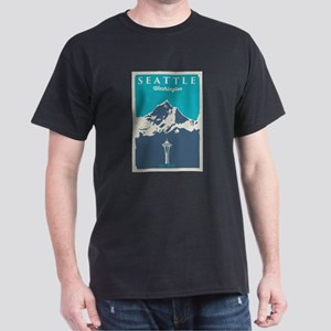 Seattle. Dark T-Shirt