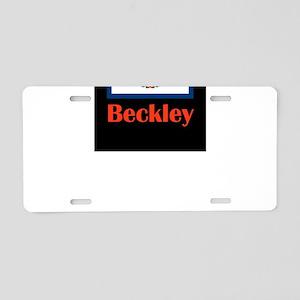 Beckley West Virginia Aluminum License Plate