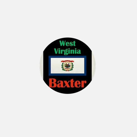 Baxter West Virginia Mini Button