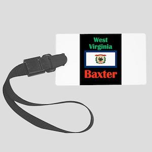 Baxter West Virginia Luggage Tag