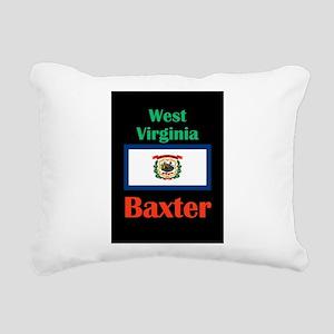 Baxter West Virginia Rectangular Canvas Pillow