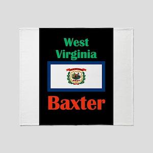 Baxter West Virginia Throw Blanket