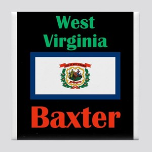 Baxter West Virginia Tile Coaster
