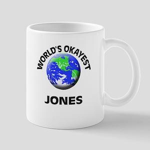 World's Okayest Jones Mugs