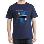 Badger Map Dark T-Shirt