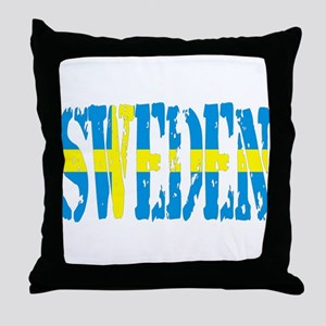 Sweden Torn Throw Pillow