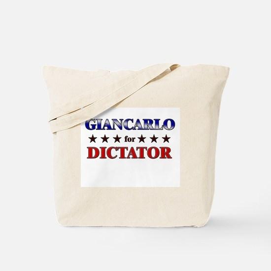 GIANCARLO for dictator Tote Bag