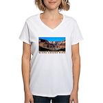 GrandCanyonHiker Women's V-Neck T-Shirt
