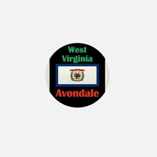 Avondale West Virginia Mini Button