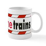 I brake the train Mug