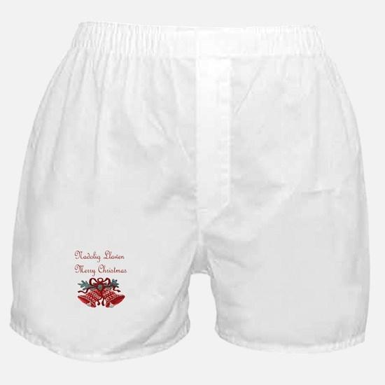 Welsh Christmas Boxer Shorts