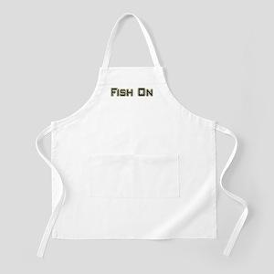 Fish On (2) BBQ Apron