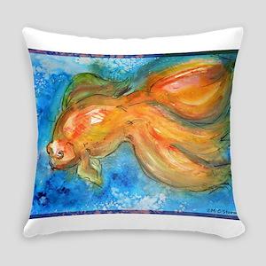 Goldfish, fun art! Everyday Pillow