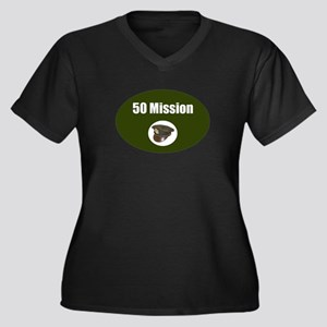 50 Mission Cap Plus Size T-Shirt