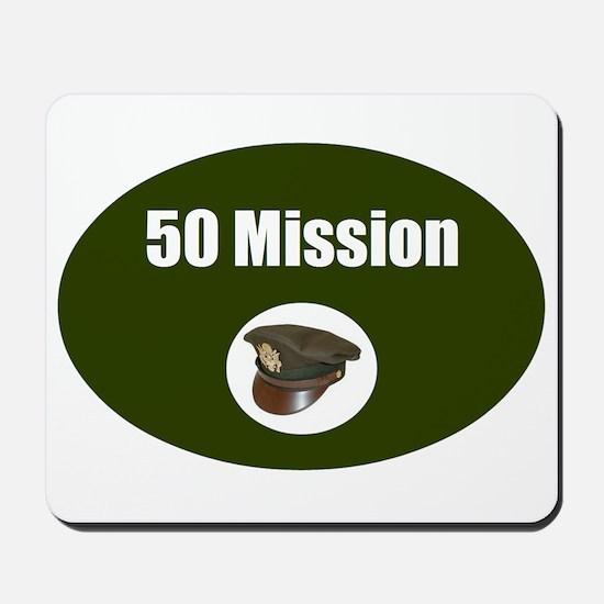 50 Mission Cap Mousepad