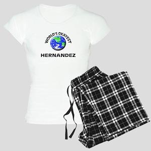 World's Okayest Hernandez Women's Light Pajamas