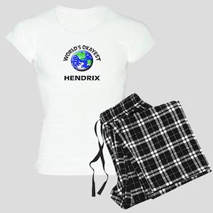 World's Okayest Hendrix Women's Light Pajamas