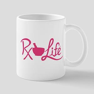 Pink Rx Life Mug