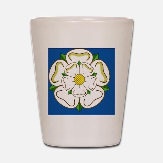 Flag of Yorkshire Shot Glass