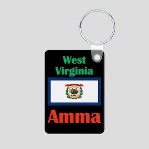 Amma West Virginia Keychains