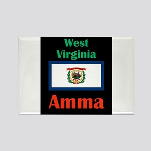 Amma West Virginia Magnets