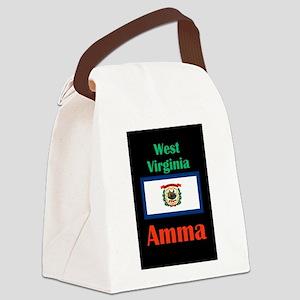 Amma West Virginia Canvas Lunch Bag